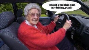 granny driving